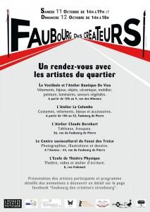 affiche Faubourg des Créateur 2014