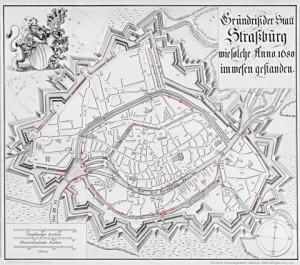 plan de strasbourg Schoepflin