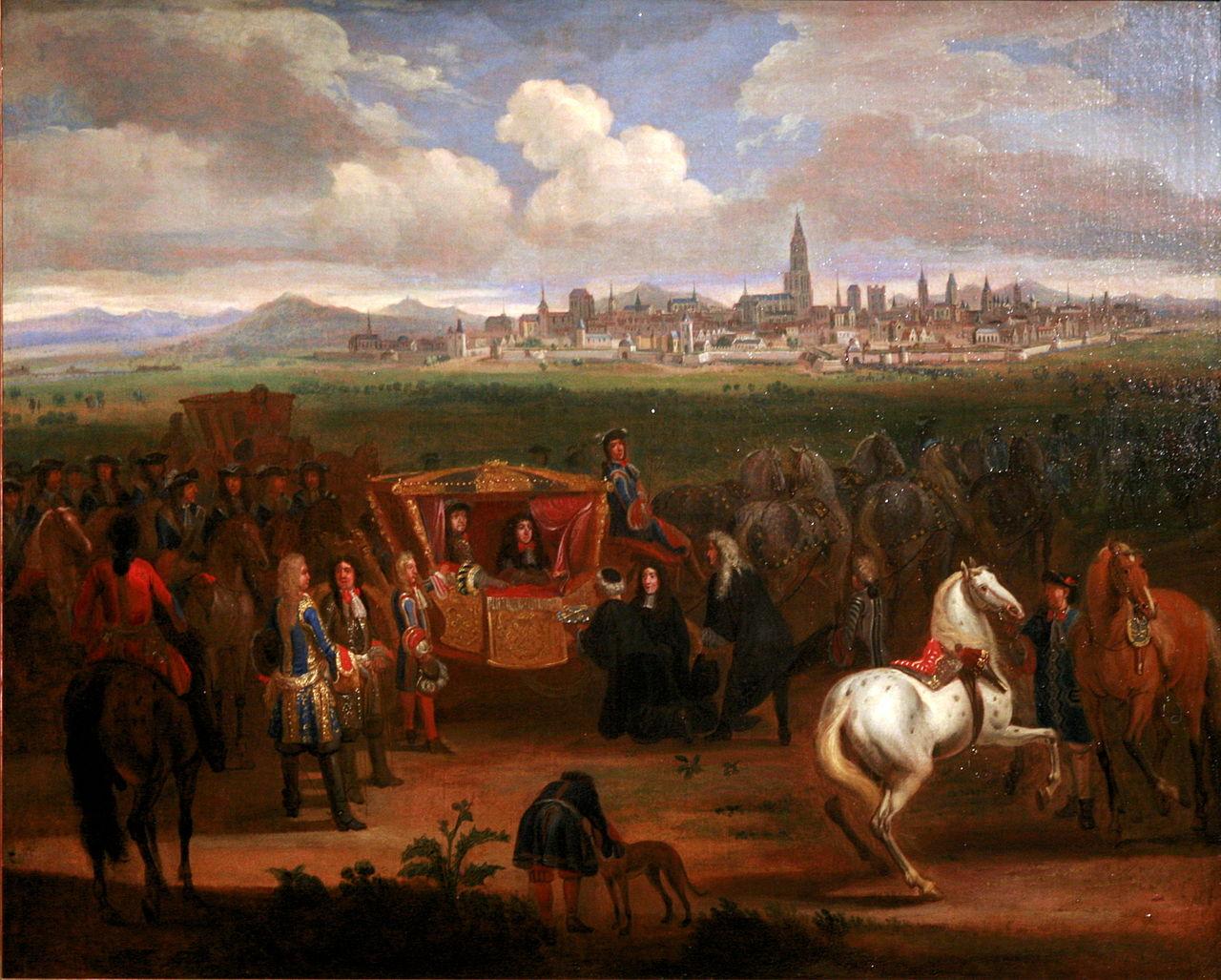 Louis XIV recevant les clefs de Strasbourg