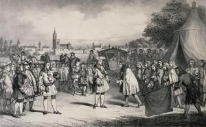 emile Lemaître 1860 Louis XIV devant Strasbourg