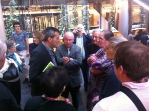 Rencontre avec le député Edouard Martin