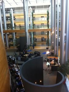espace presse au parlement européen