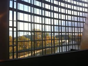 Vue sur Strasbourg depuis le Parlement européen