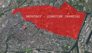 Notre quartier, aux portes de la Neustadt