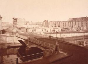 notre quartier en 1870 avant la reconstruction