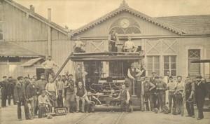 1877 création de la CTS Strasbourg