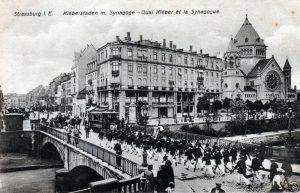 Pont de Saverne vers 1900-Strasbourg-AQHT