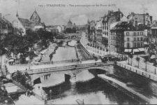 Les ponts du Fossé du Faux Rempart à strasbourg AQHT