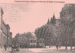tramway ligne Ottrott Strasbourg 1930