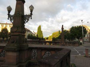 Le Pont de la Fonderie à Strasbourg, AQHT