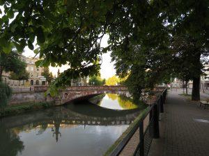 Le pont de la Fonderie, à Strasbourg, AQHT