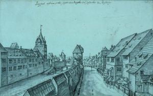 Le faux rempart de Strasbourg vers 1650 (Jean-Jacques-Arhardt) AQHT