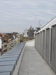 vue sur les toits du quartier CP Karim TATAI